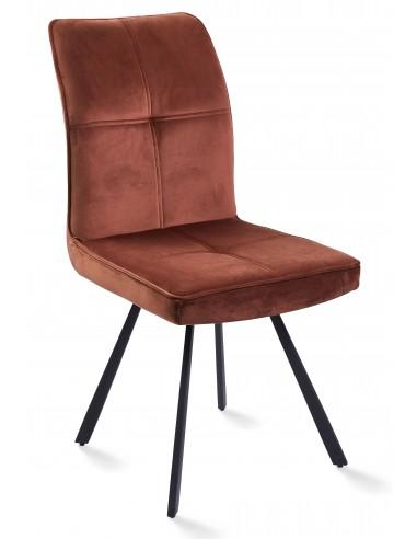 Krēsls VIA VIC vara/grozāms