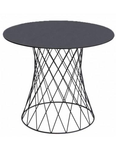 Apaļš galds RETE Ø90 tumši pelēks